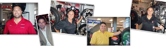 Meet the Team at Jaime's Tire Store